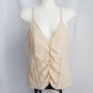 Zara Sz L Undergarment Camisole Body Shaper beige
